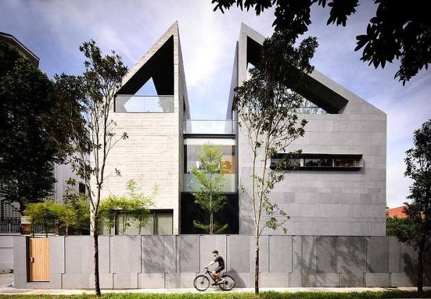 Fachadas de Casas Modernas Diferentes