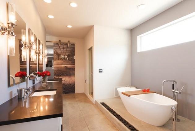 Banheiro Moderno Criativo