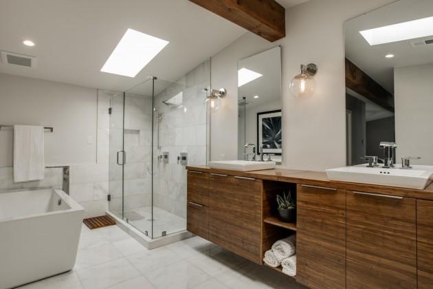 Banheiro Moderno de Casal