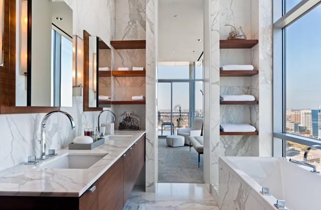 Banheiro Moderno de Luxo