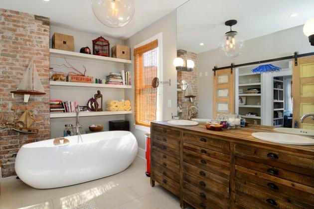 Banheiro Moderno Ecletico
