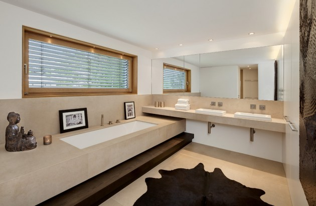 Banheiro Moderno Minimalista