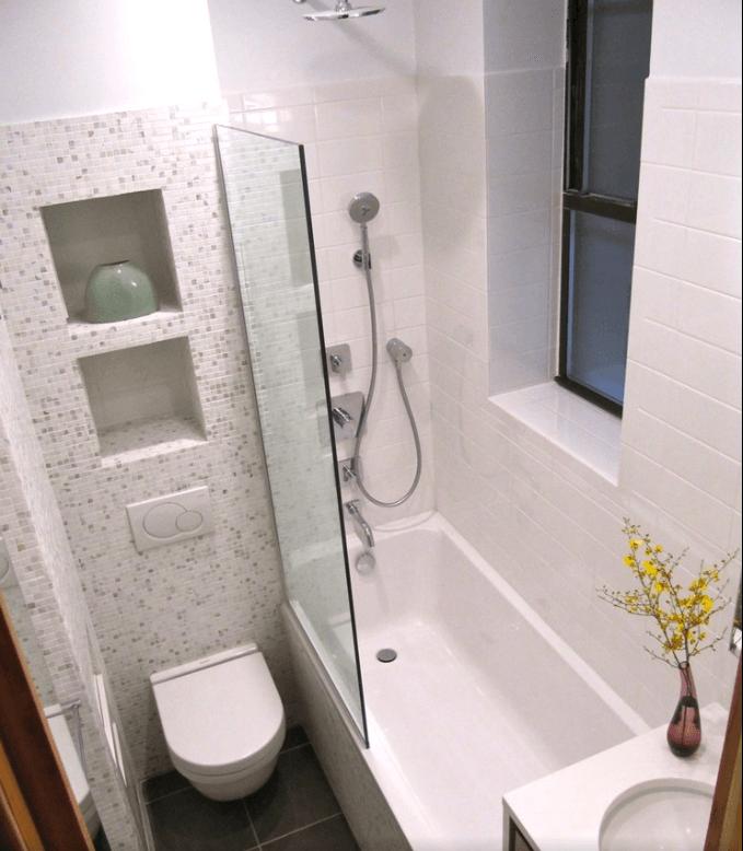 Banheiros Modernos e Pequenos 2015