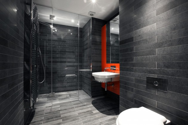 Banheiros Modernos Escuros