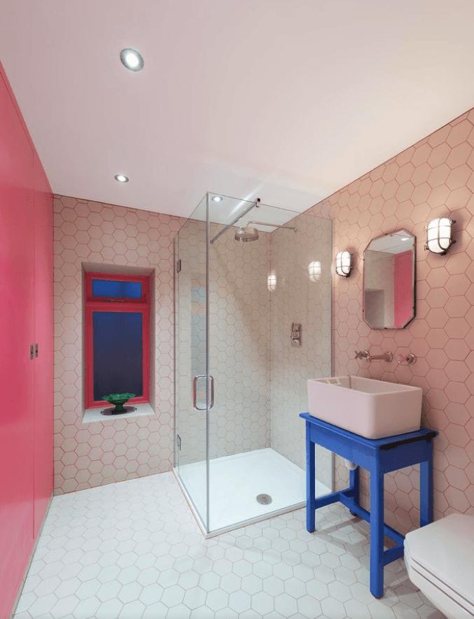 65 Banheiros Modernos Surpreendentes  Arquidicas -> Decoracao Ecologica Banheiro