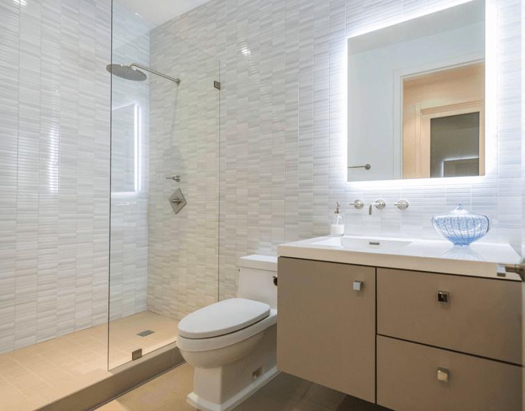 65 Banheiros Modernos Surpreendentes  Arquidicas # Banheiros Modernos Fotos