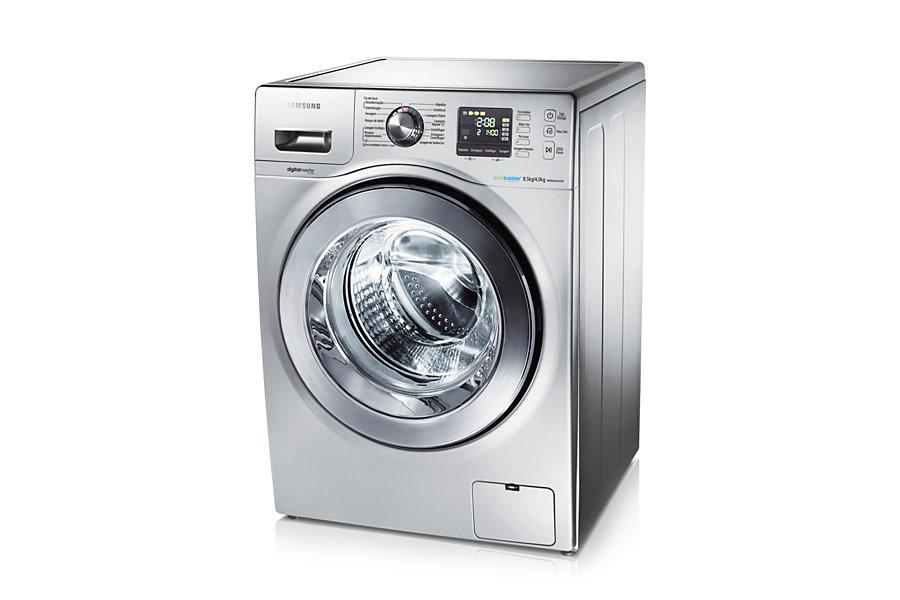 Lavadora e Secadora Samsung Seine 8,5 kg Prata