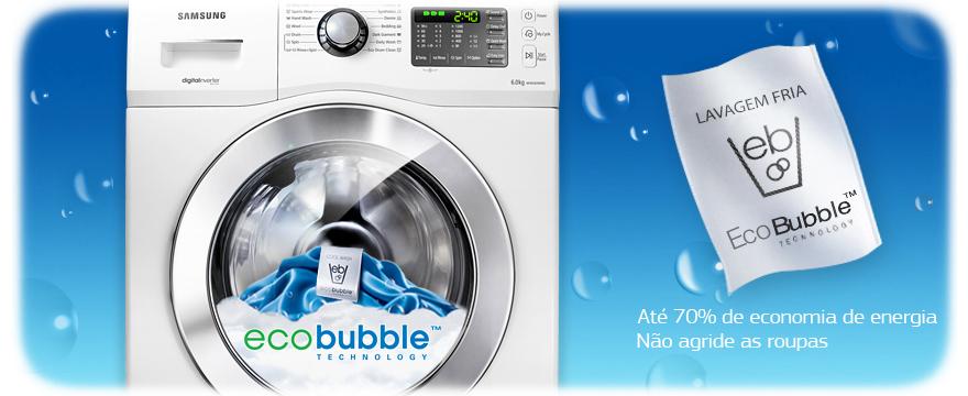 Lava Seca Samsung Eco Bubble 13Kg
