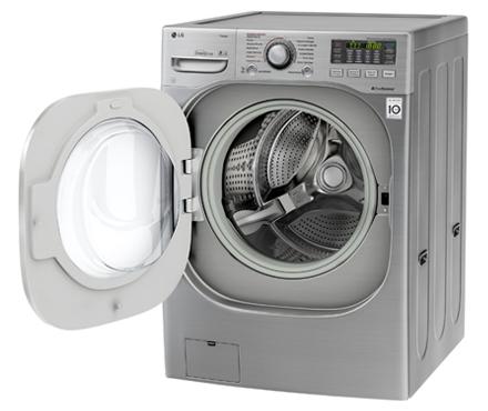 Lavadora e Secadora LG Titan 16Kg Aço Escovado