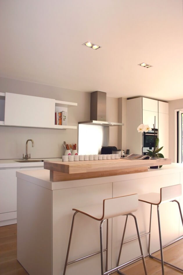 cozinhas pequenas claras
