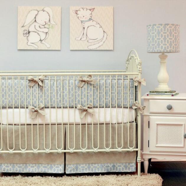 quarto de bebe simples