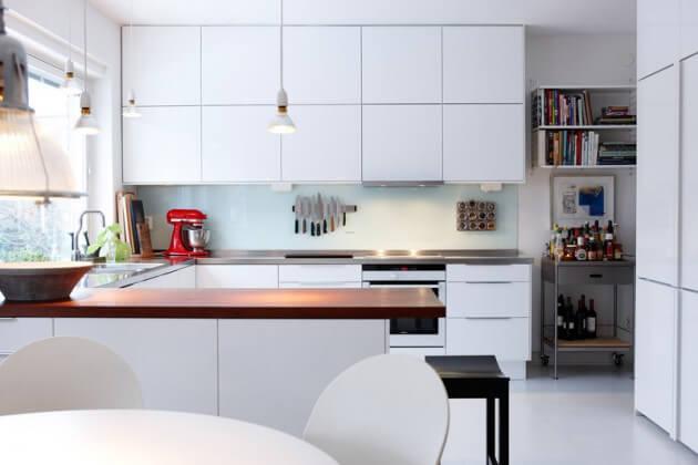 armários para cozinha americana