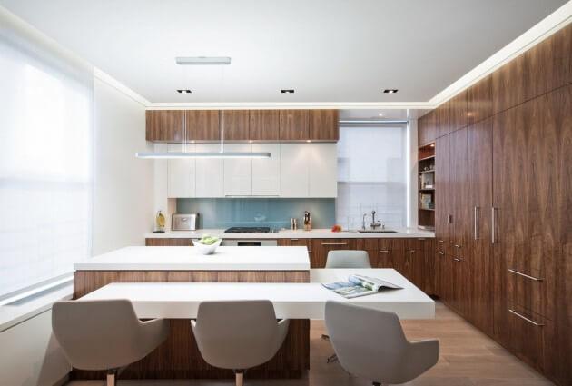 cozinhas americanas bonitas