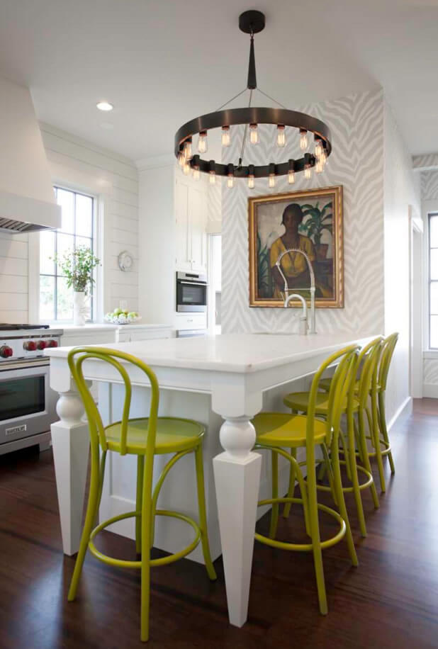 cozinha americana adesivo de parede