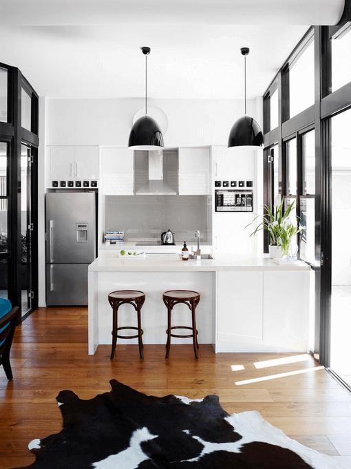 cozinhas americanas compactas