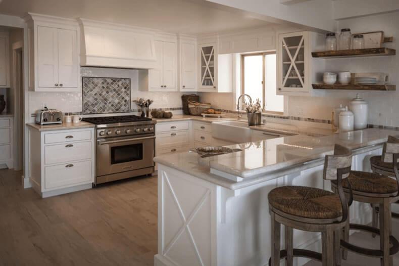 cozinha americana clássica