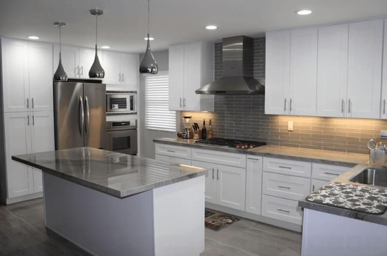 cozinhas americanas iluminação