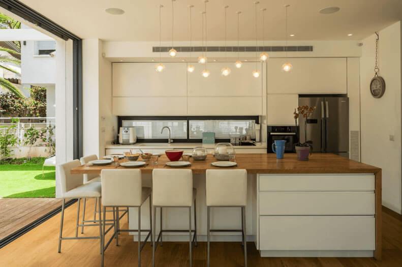 cozinhas americanas integradas