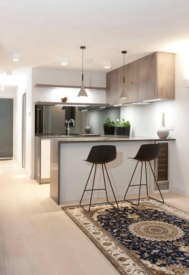 Cozinha americana dicas profissionais fotos e medidas arquidicas - Dimensioni minime cucina bar ...