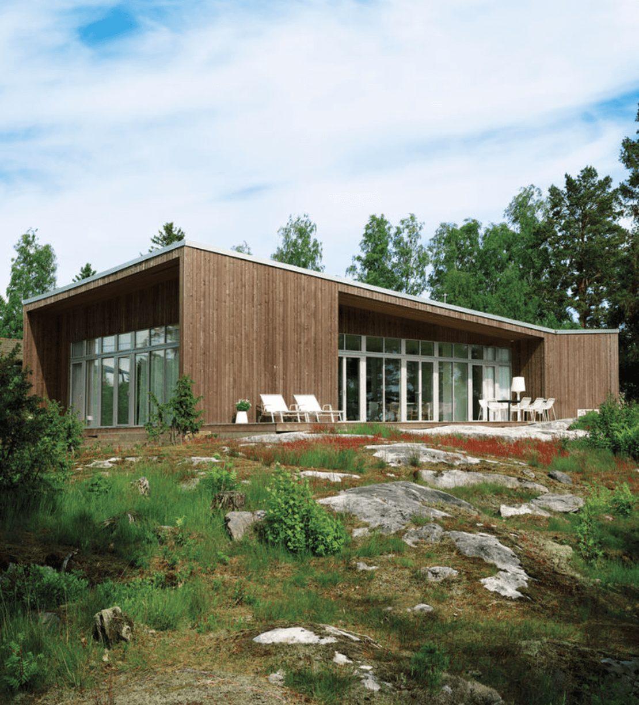Projeto de casa de campo