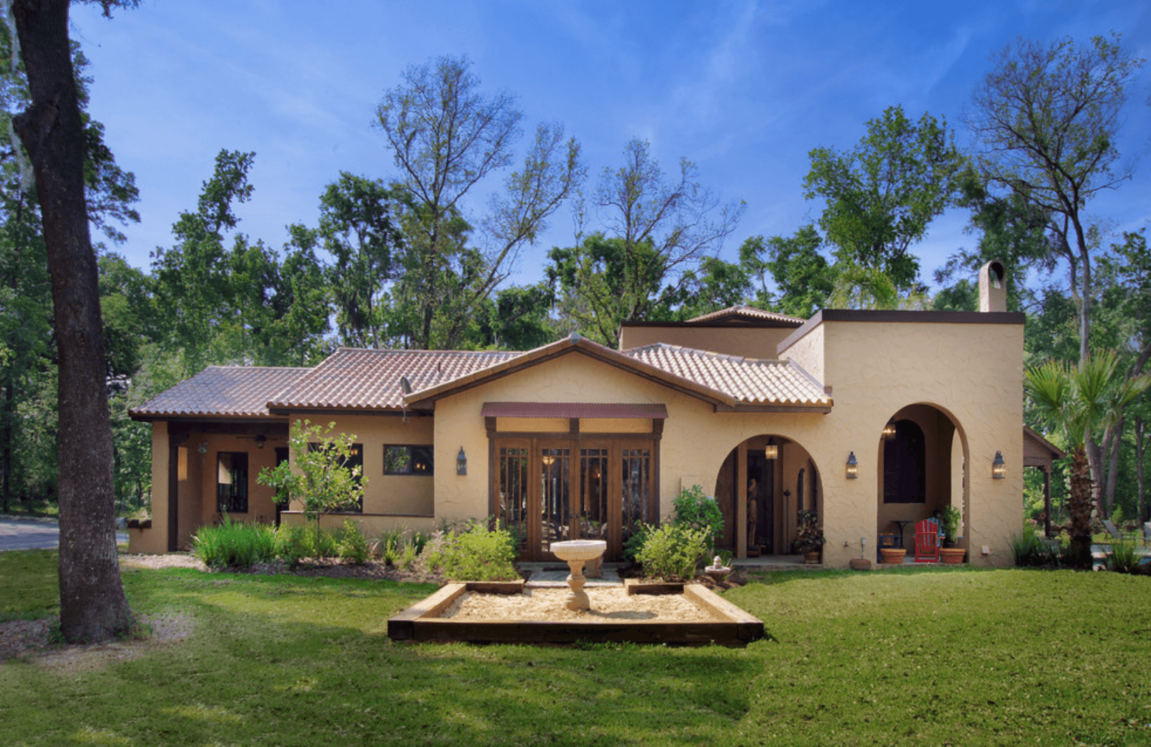 Casa de campo como projetar arquidicas for Modelos jardines para casas pequenas