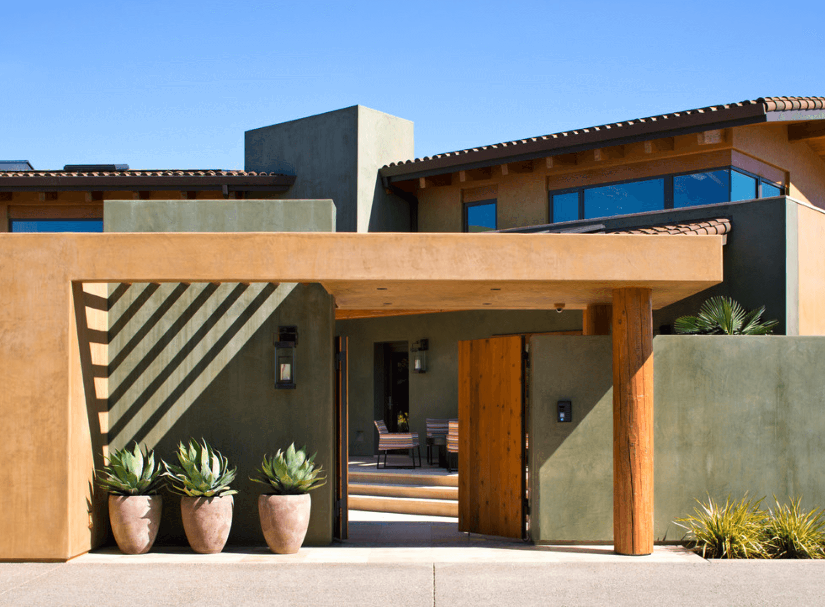 Fachadas de casas de campo simple fachadas de casas de for Fachada de casas