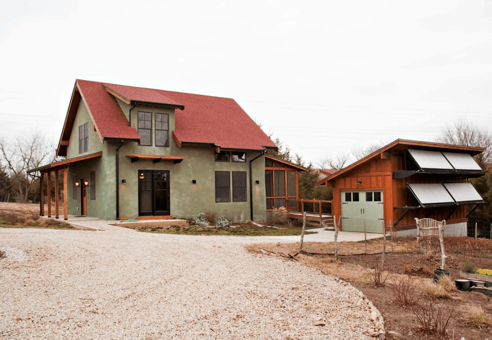 Casa de campo em calvenaria.