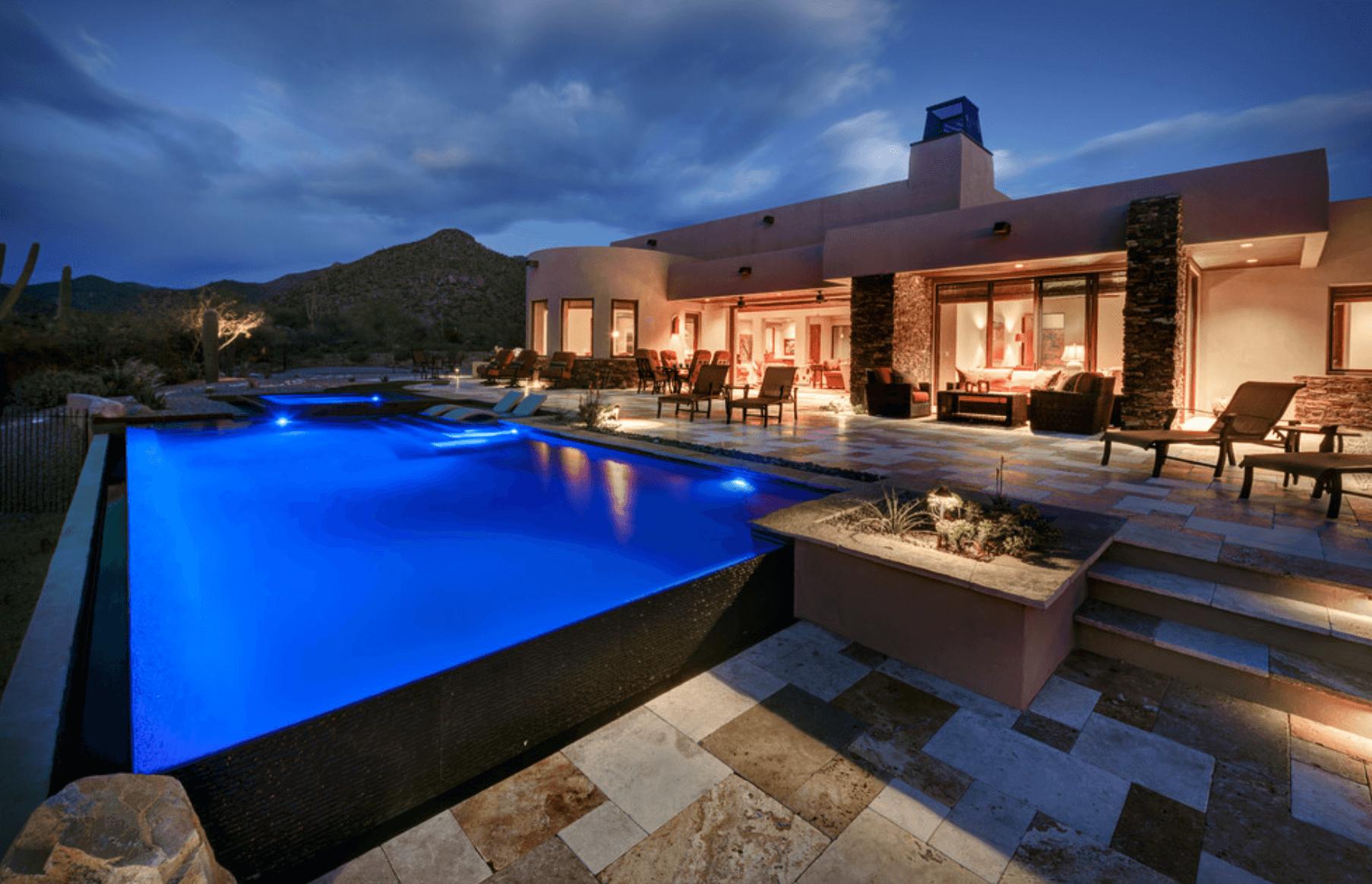 Casa de campo como projetar arquidicas for Casa moderna con piscina