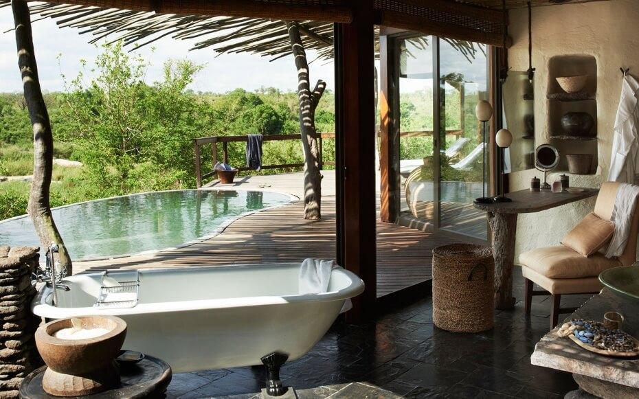 Casa de campo com varanda