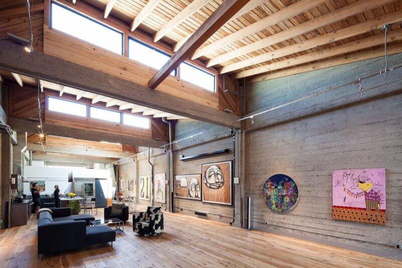 Casa de campo interior
