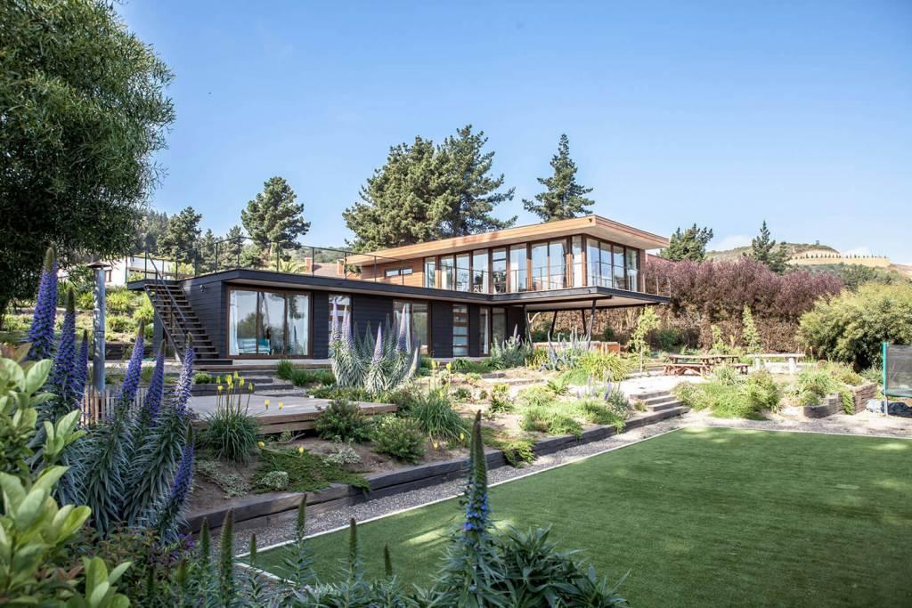 Casa de campo jardim