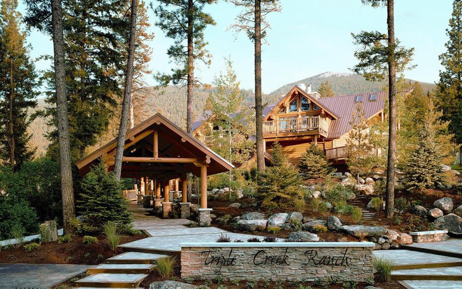 Casa de campo madeira