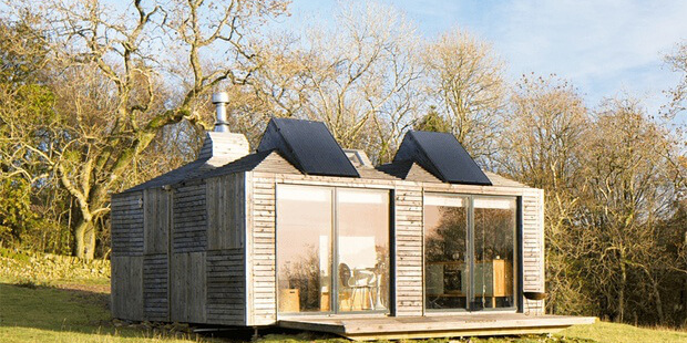 Casa de campo pequena