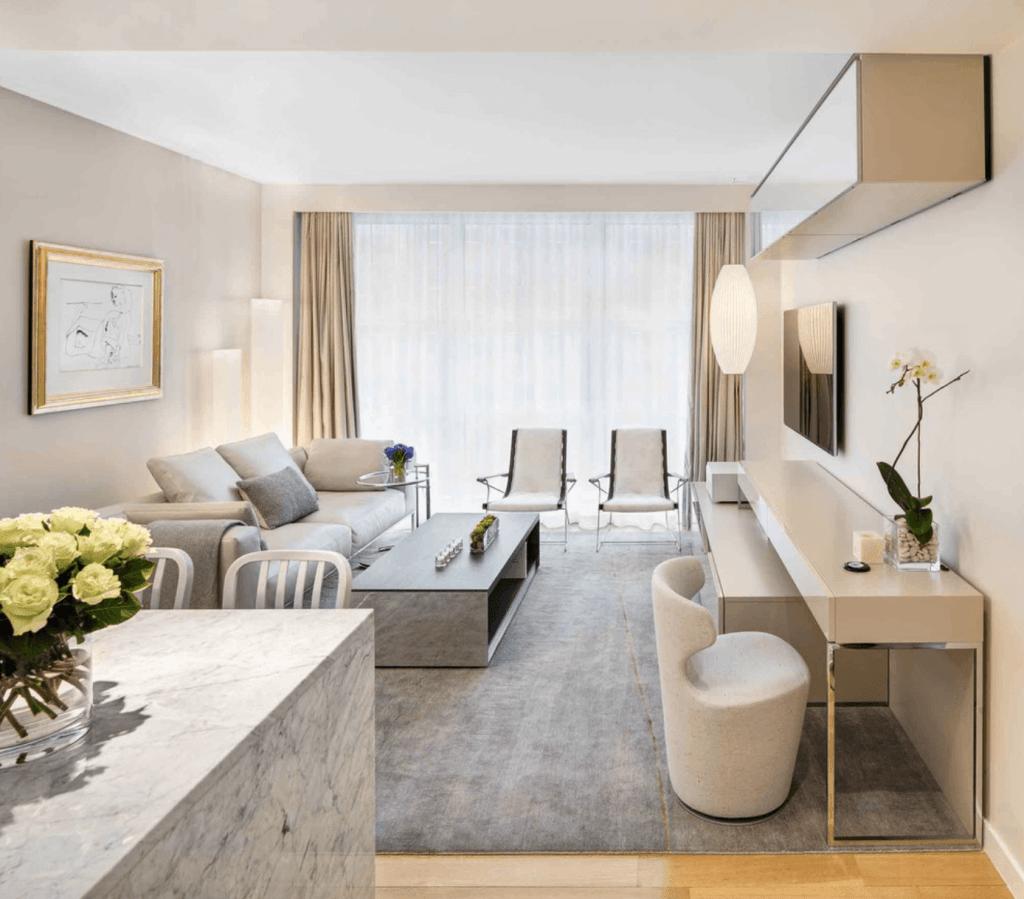Arquitetura e decoração de sala