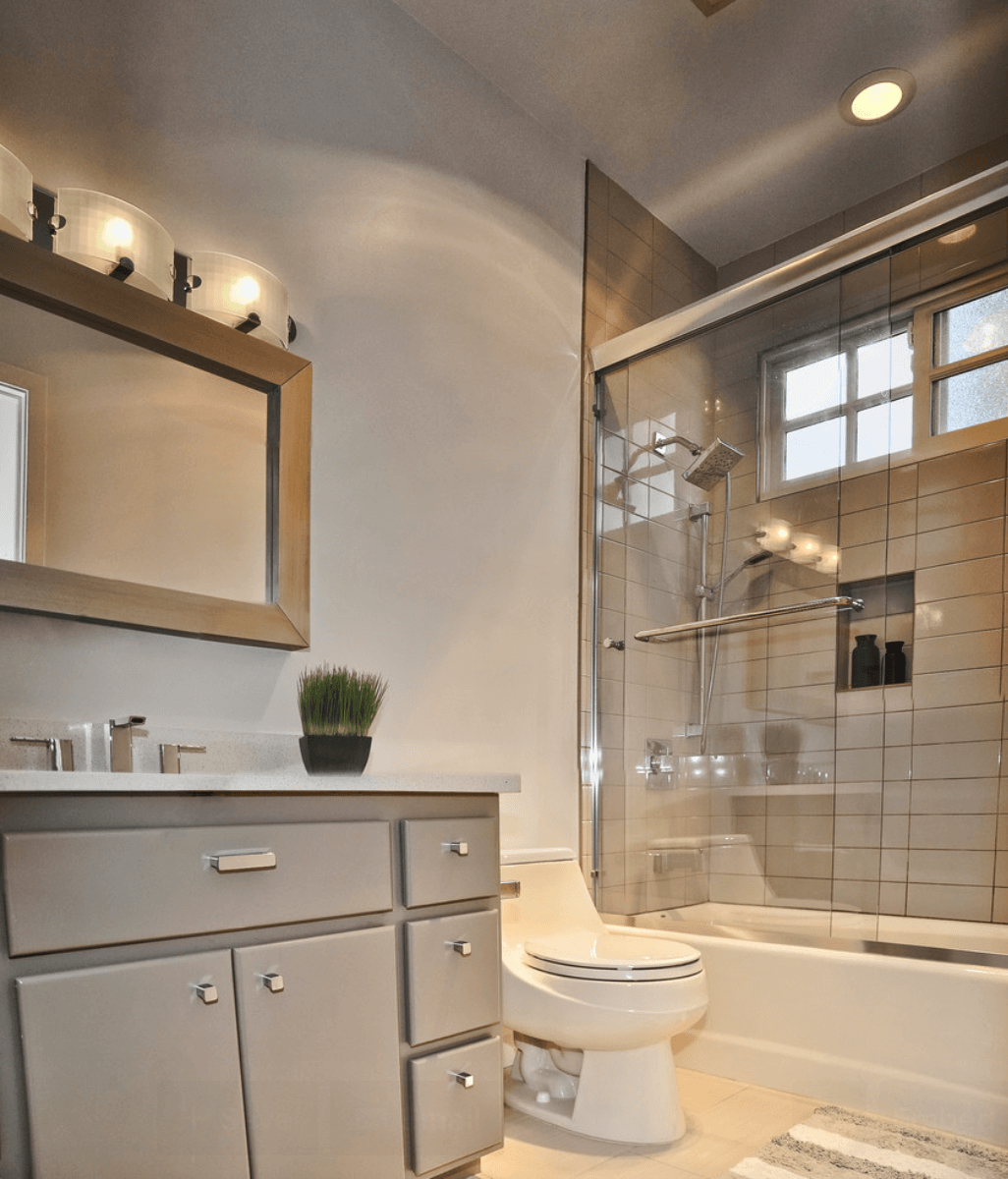 Banheiros Pequenos  Fotos e Dicas Imperdíveis  Arquidicas -> Banheiro Planejado Chique