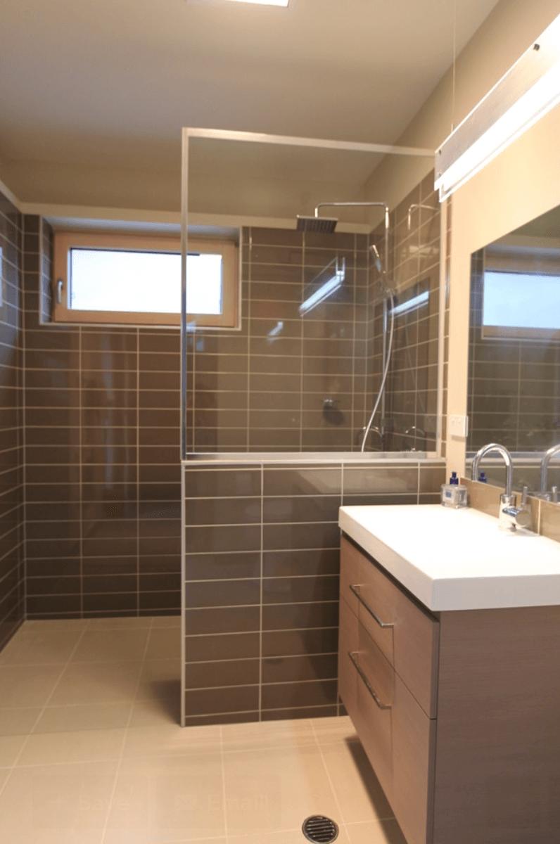 Dicas De Banheiros Pequenos E Modernos Pictures to pin on Pinterest -> Banheiro Pequeno Dicas