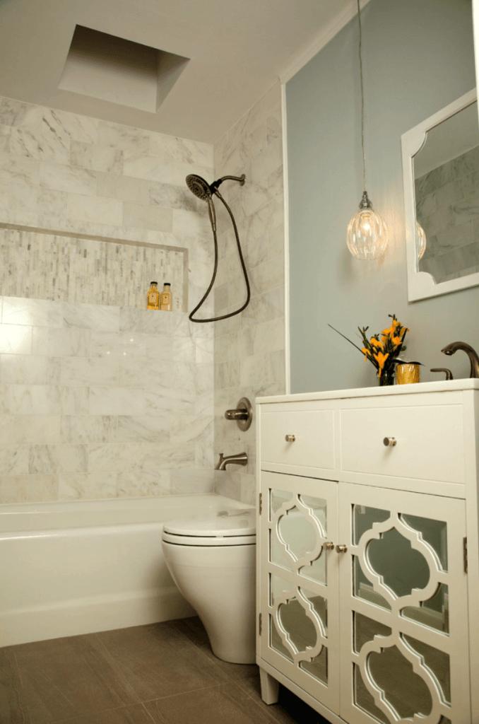 banheiros pequenos de apartamento