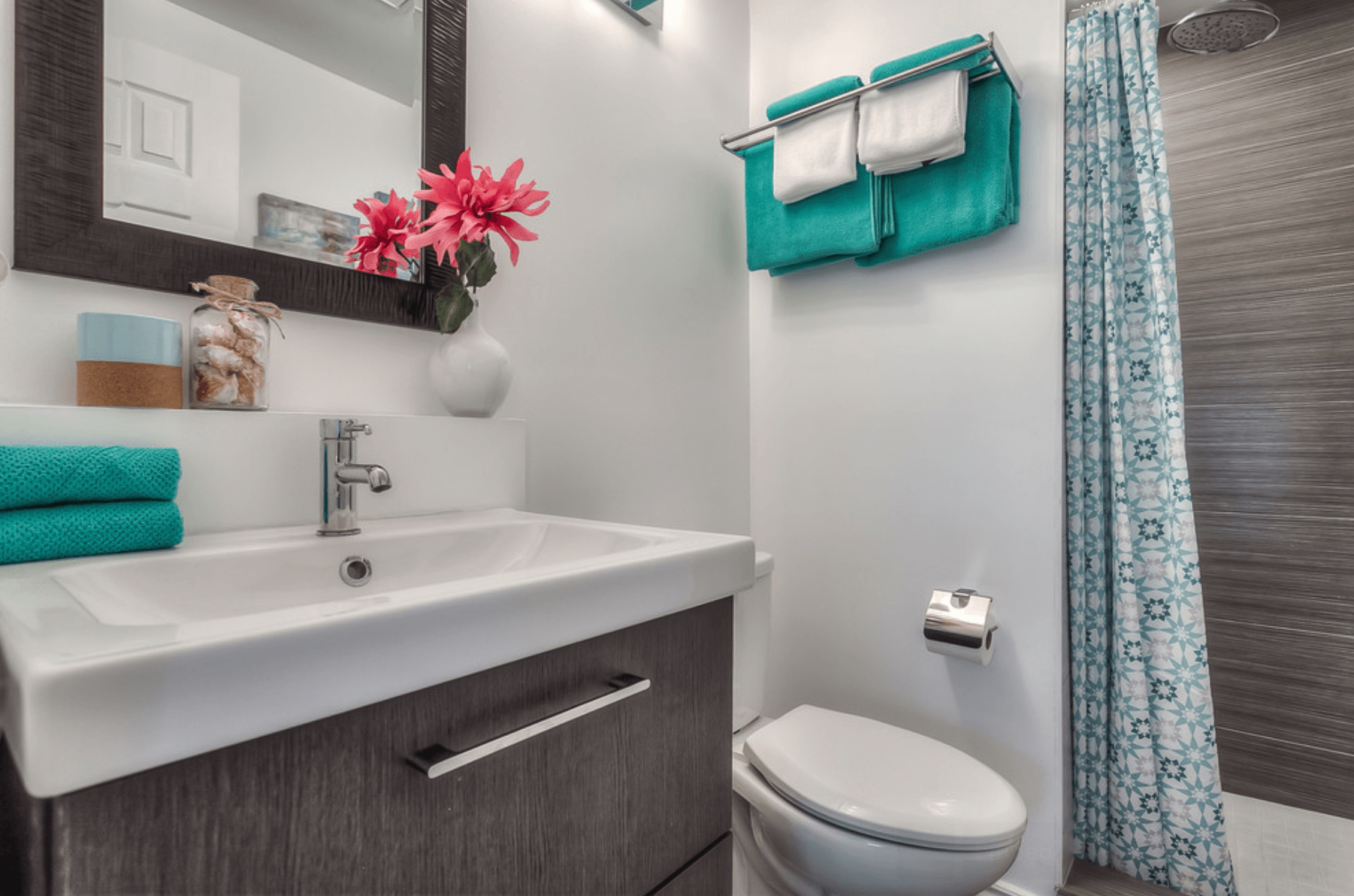 Banheiros Pequenos Fotos e Dicas Imperdíveis Arquidicas #207B79 1802 1192