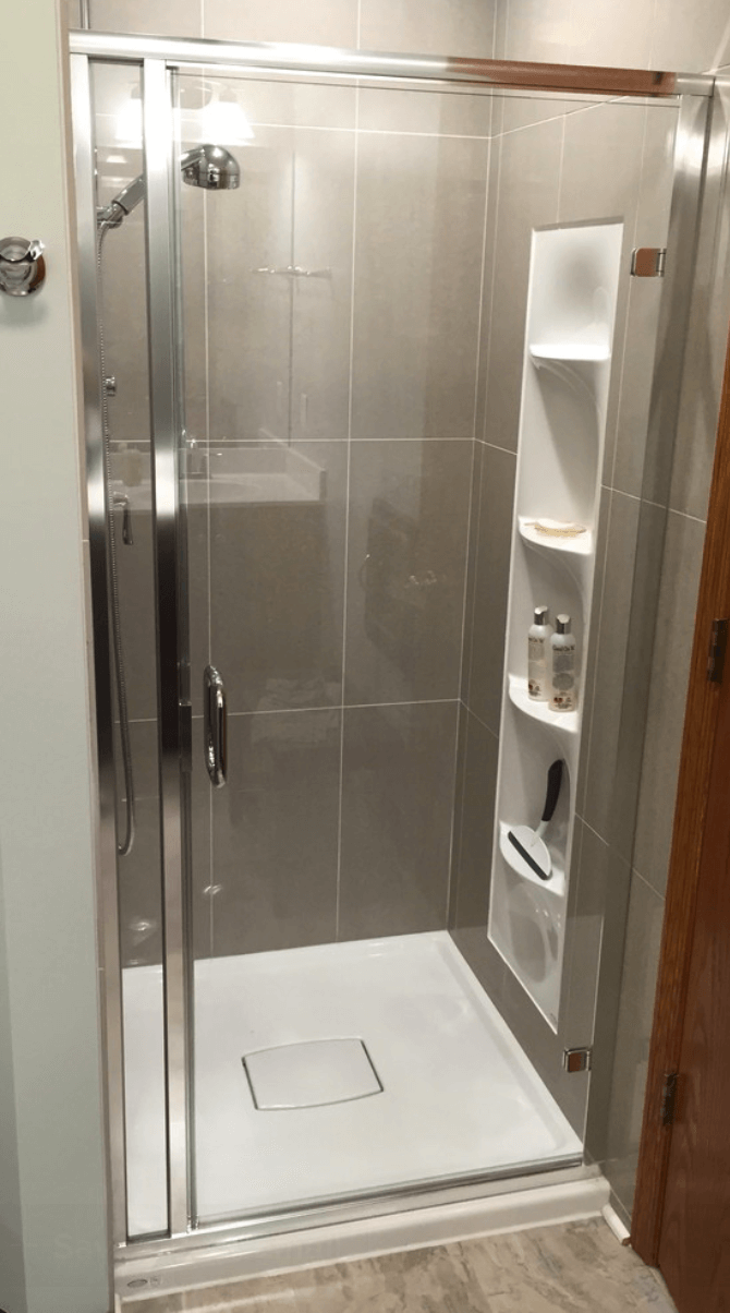 Banheiros Pequenos  Fotos e Dicas Imperdíveis  Arquidicas # Nicho Para Box Banheiro Pequeno
