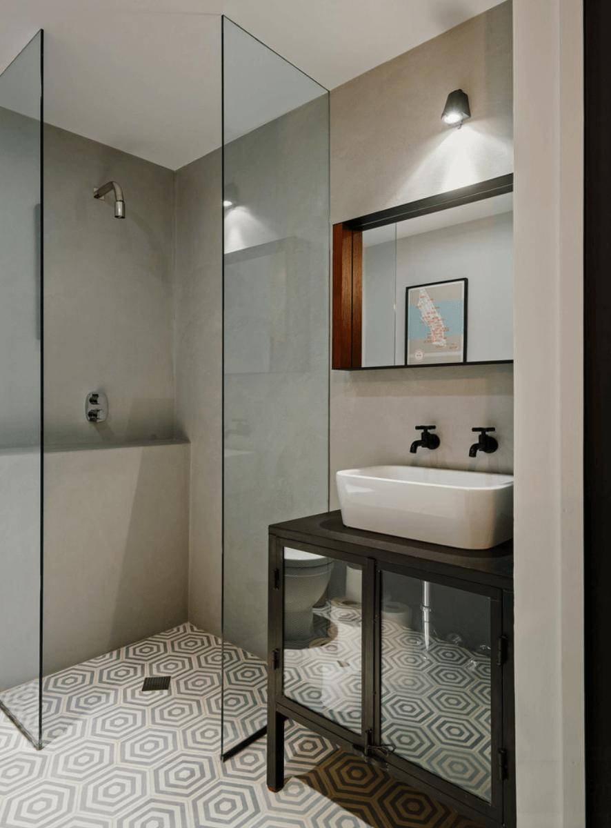 Banheiros Pequenos  Fotos e Dicas Imperdíveis  Arquidicas -> Banheiro Pequeno Quadrado