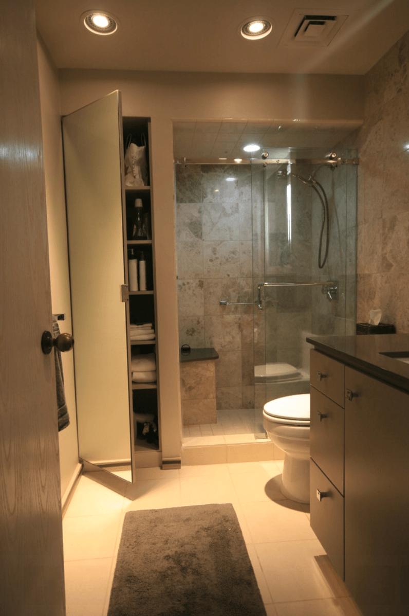 Armario De Parede Para Banheiro Pequeno : Banheiros pequenos fotos e dicas imperd?veis arquidicas