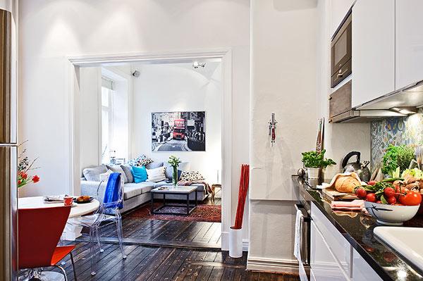 decoração de sala em apartamento
