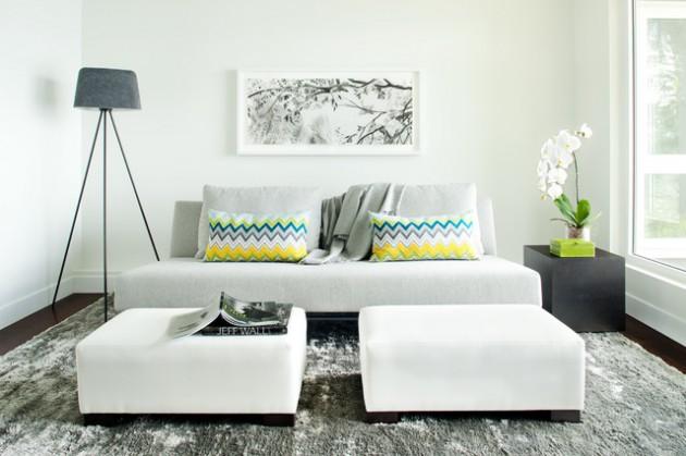 decoração de sala compacta
