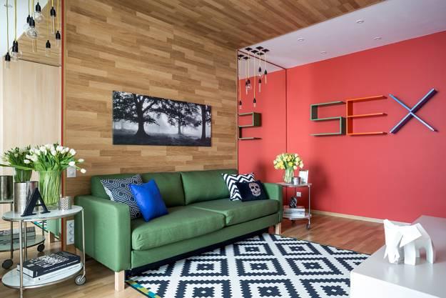 decoração contemporânea para sala