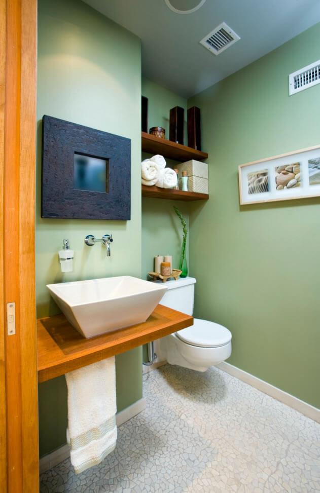 Banheiro Pequeno E Bonito 09 Pictures to pin on Pinterest -> Banheiros Pequeno Bonito
