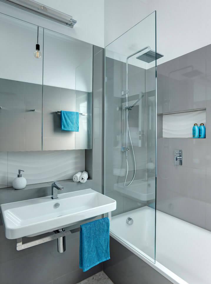 banheiros pequenos hidro