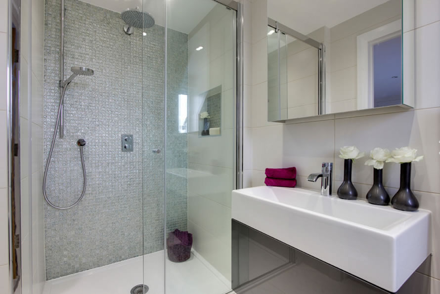 Banheiros Pequenos  Fotos e Dicas Imperdíveis  Arquidicas -> Banheiros Decorados Com Pastilhas Amarelas
