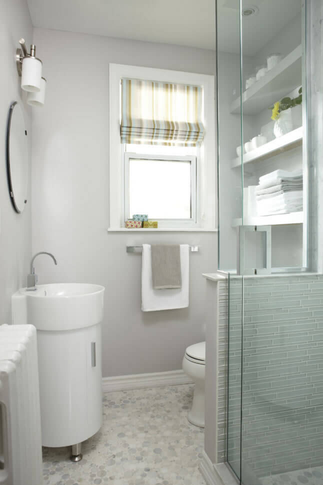 Banheiros pequenos fotos e dicas imperd veis arquidicas for Bathroom designs for small spaces south africa