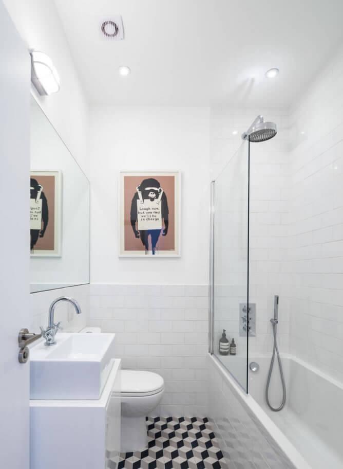 #474647 Banheiros Pequenos Fotos e Dicas Imperdíveis Arquidicas 668x912 px decoração de banheiros pequenos simples