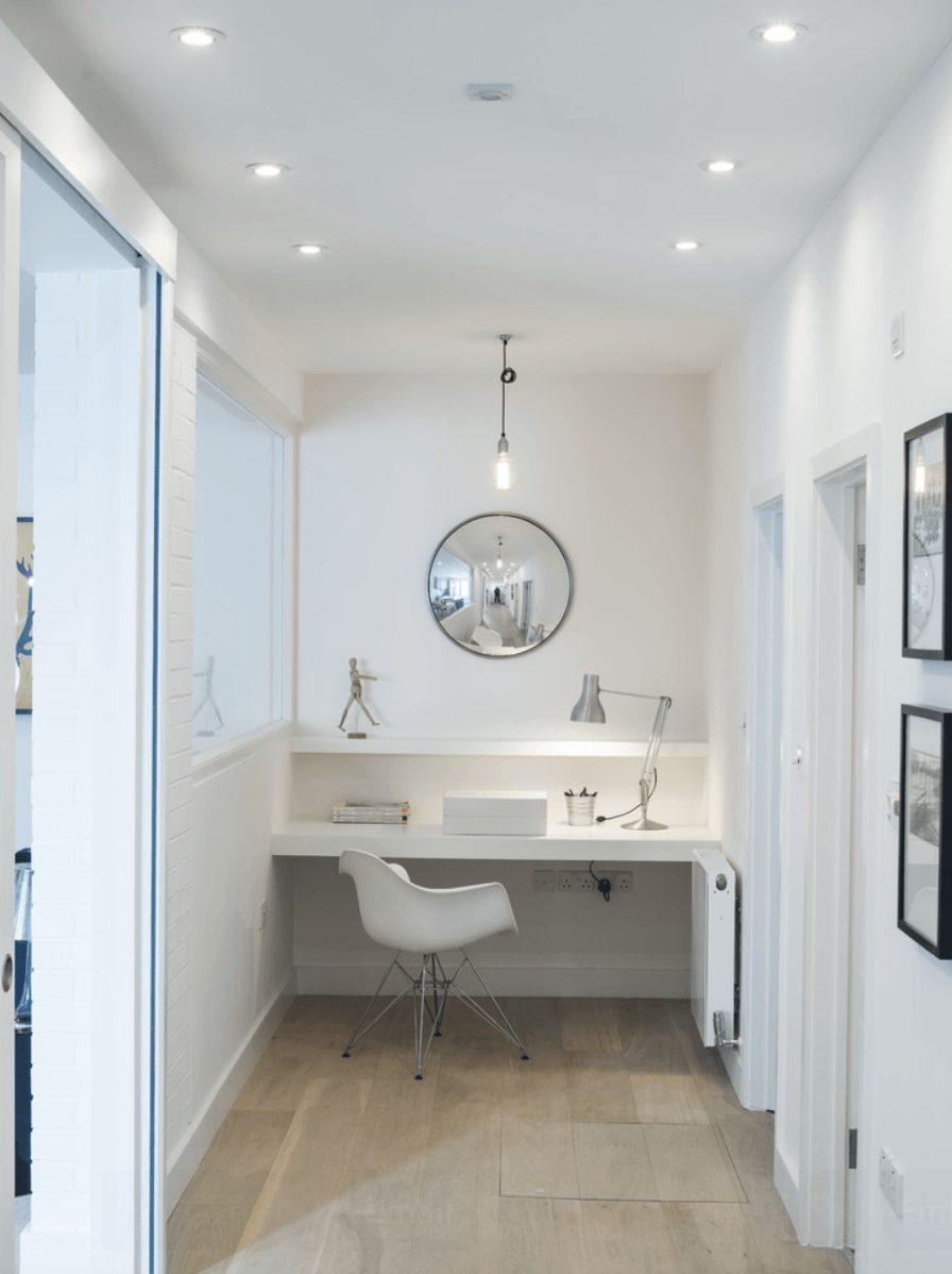 escritório em casa branco
